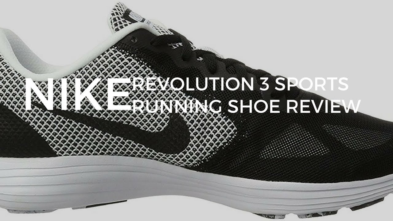NIKE REVOLUTION 3 MEN'S SPORTS RUNNING SHOE reviews nike men's revolution 3 running  shoe review!