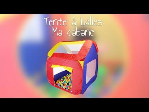 Tente à Balles Ma Cabane De Monsieur Bébé Youtube