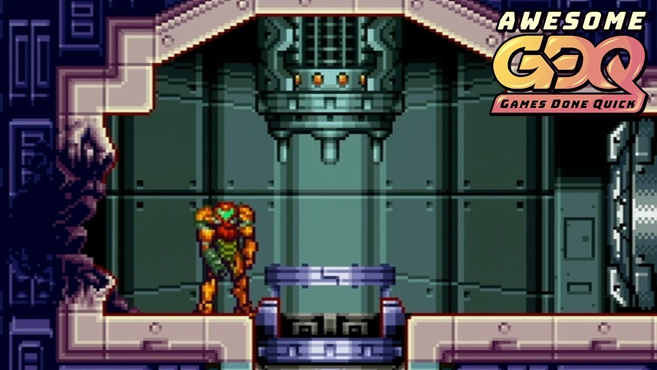 Metroid Fusion by CScottyW in 50:23 - AGDQ2019
