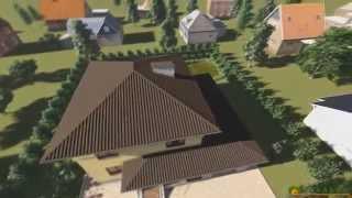 Проект дома из теплоблока ТБ 36 (160 м2)