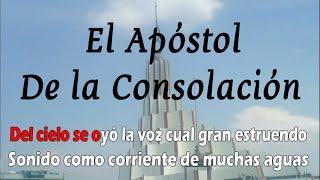 El apostol de la consolacion - Instrumental con Letra