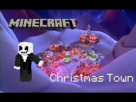 Mineimator Christmas Town Animation - What's this?