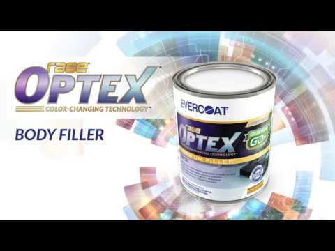 OPTEX™ Premium Body Filler and Putty by Evercoat® -- Application Video