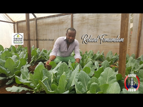 Roland Fomundam Speaks On Growing Organic Foods With Green House Tech & Blacks Visiting Africa