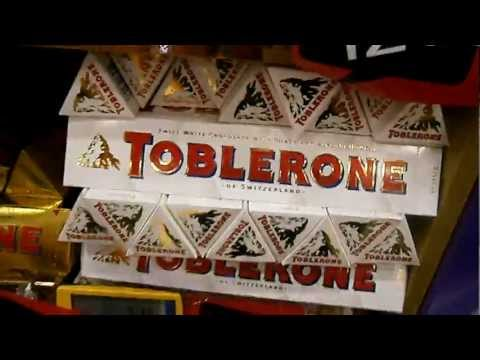 Toblerone in duty free