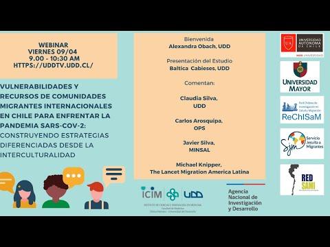 Vulnerabilidades y Recursos de Comunidades Migrantes Internacionales en Chile para enfrentar la pandemia sars-cov-2