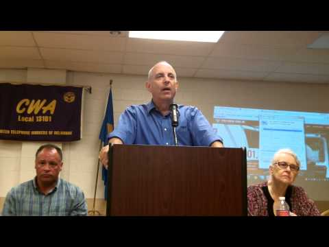 CWA President Larry Cohen Speaks to Local 13101