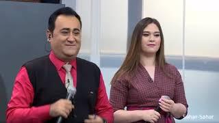 Aparıcı Elgiz Əkbər canlı mahnı oxudu - ARB TV