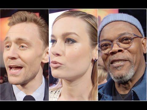Kong: Skull Island FULL INTERVIEWS LONDON PREMIERE with Tom Hiddleston