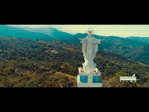 Monumento Virgen de Yanaconas - Cali, Colombia (a vista de drone 4K)