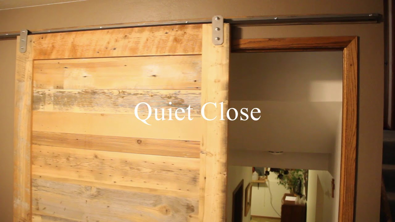 Privacy Functionality Noise Reduction Of Sliding Barn Doors