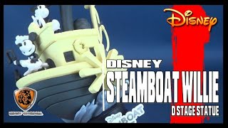 Disney Steamboat Willie | Beast Kingdom D-Stage DS-017 PX Previews Excl Statue Review #Disney