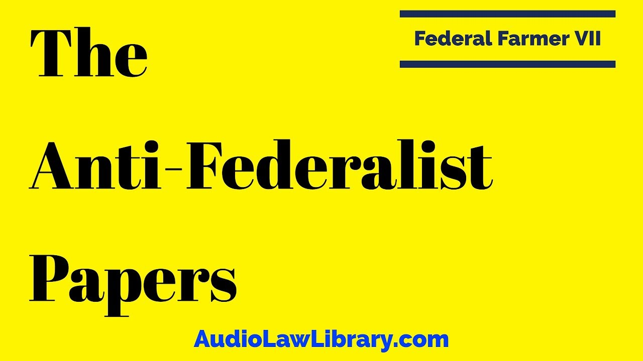 an essay analyzing the disagreements between the federalists and anti federalists Comparing federalists with antifederalists  and jefferson's opposing view  students identified other areas of disagreement between the two.