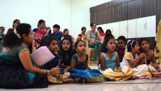 Royal Legend Kids singing devotional songs - Ganesh Chathurthi 2015