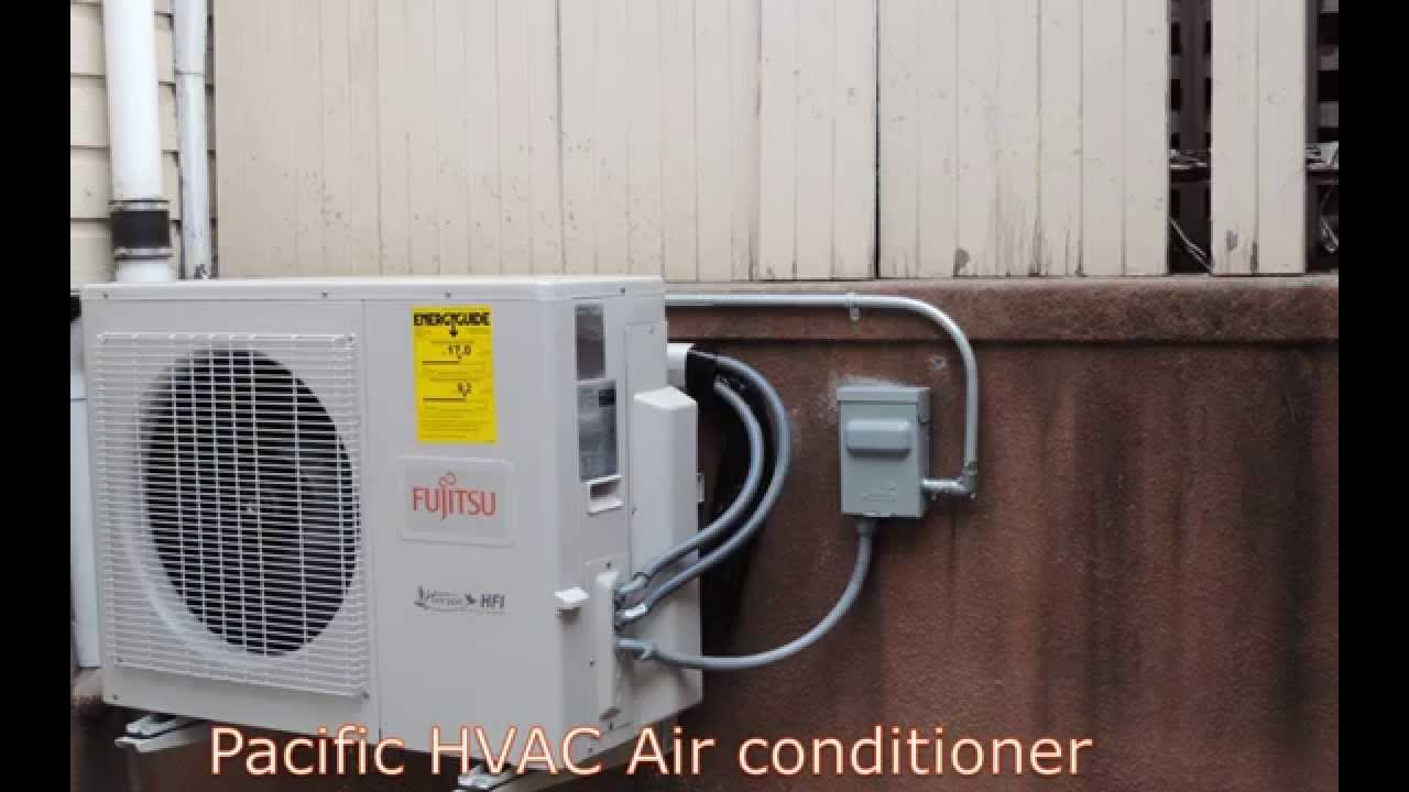 Fujitsu Ductless Air Conditioning Installation Multi