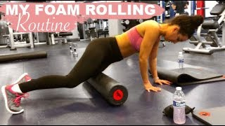 My Foam Rolling Routine
