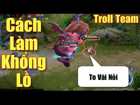 [Gcaothu] Hướng dẫn cách làm Zip hóa to Khổng Lồ - Troll team trợ thủ Hot Seagames