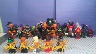 Lego Ninjago: We Are Ninjago StopMotion Music Video