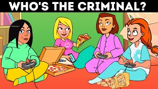 PJ Party Riddles 🍕 Brain Games To Test Your Logic