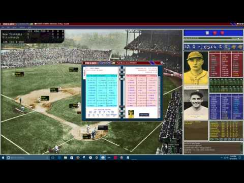 SOM Replay: 1927 World Series Game 1.  NYY @ PIT