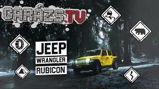 Jeep Wrangler Rubicon Tartósteszt l AMTS Porsche Épül