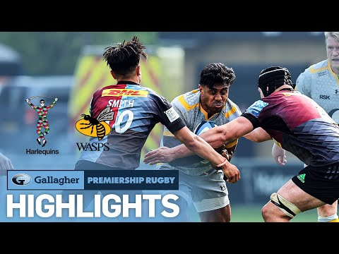 Harlequins v Wasps - HIGHLIGHTS | Smith Shines in Instant Classic! | Gallagher Premiership 2020/21