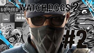 Watch Dogs 2 #2 Прогулка по парку. Продолжаем исследование мира.