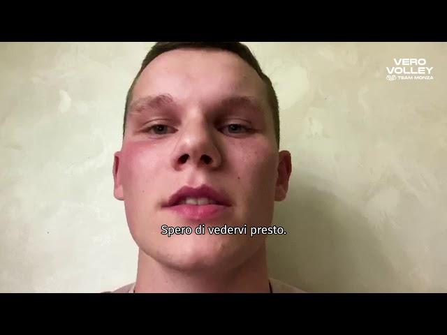 Vlad Davyskiba è il nuovo schiacciatore della Vero Volley Monza