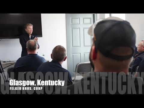 Sen. Rand Paul Visits Glasgow, Kentucky - Nov. 15, 2019