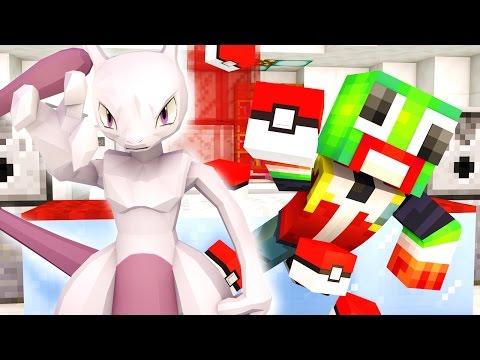 CATCHING MEWTWO IN POKEMON GO! (MINECRAFT Pokemon Go)