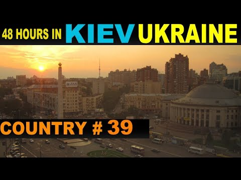 A Tourist's Guide to Kiev, Ukraine