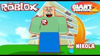 ROBLOX - UCIEKAMY PRZED GIGANTEM!!
