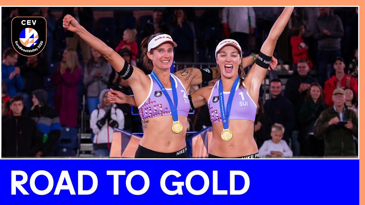 Women's Road to Gold - #EuroBeachVolley 2020