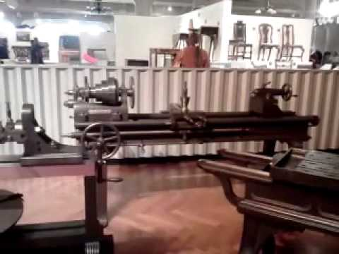 Antique machine tools at the henry ford museum