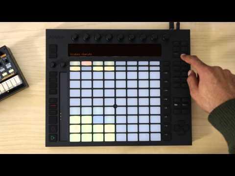 Push: Playing Hardware Drum Machines