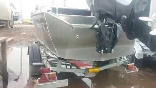 МЗСА 81771Е и Лодка Windboat-47. Катер на прицепе. ЦЛП АРИВА.