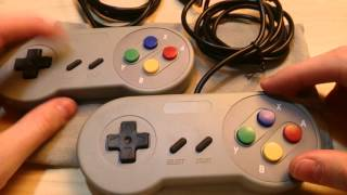 USB SNES Controllers Quick and Dirty Review || Ebay