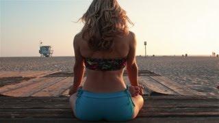 Beach Yoga, Sunset Improv Flow with Kino Santa Monica, California