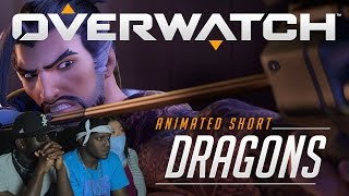 """Overwatch Animated Short   """"Dragons"""" Reaction"""
