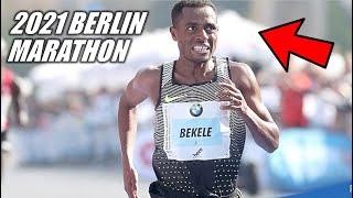 The 2021 Berlin Marathon - Kenenisa Bekele's Race For Greatness