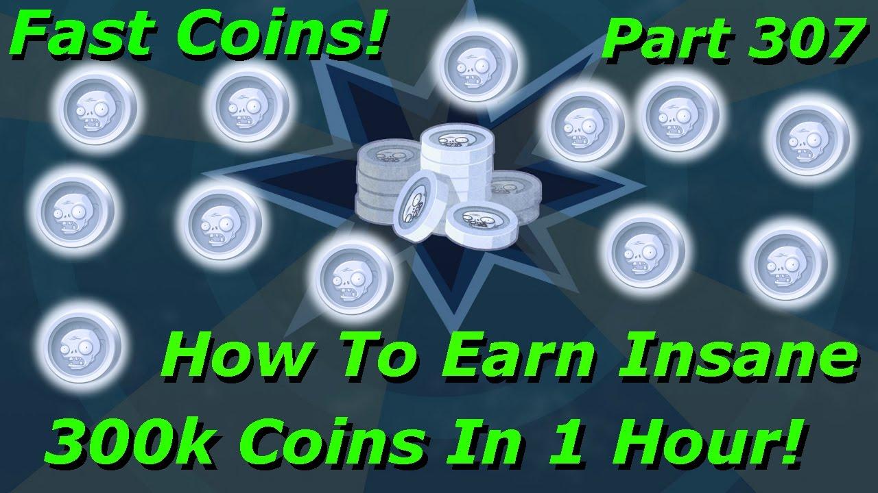 PVZ Garden Warfare 2 - How To Earn Insane 300k Coins In 1 Hour! Part 307