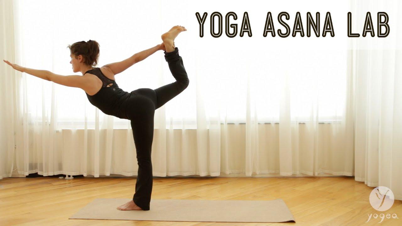 Yoga Asana Lab Balancing Poses Dancer S Pose Eagle Pose Tree Pose Youtube
