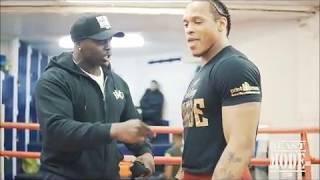 Akinfenwa vs Anthony Yarde Training Session