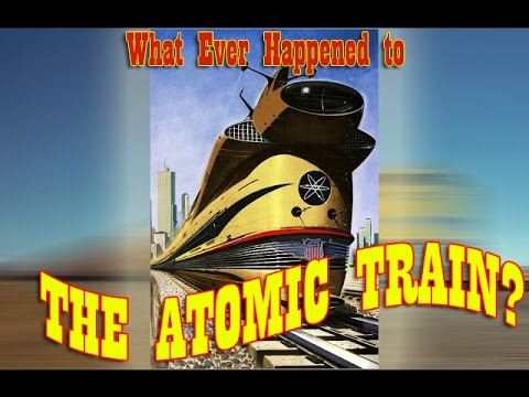 "What happened to the Atomic Train? - and HO Models of UP's Other ""Expermental"" Turbines"