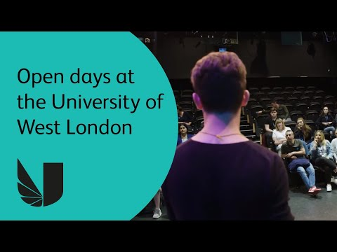 Open Days at the University of West London