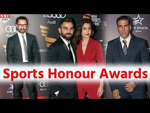 Bollywood stars At Indian Sports Honour Awards | Virat-Anushka, Saina-Sindhu