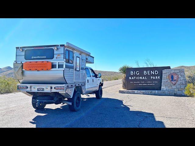 EPIC 4 DAY TRIP BIG BEND NATIONAL PARK   Overland Truck Camper