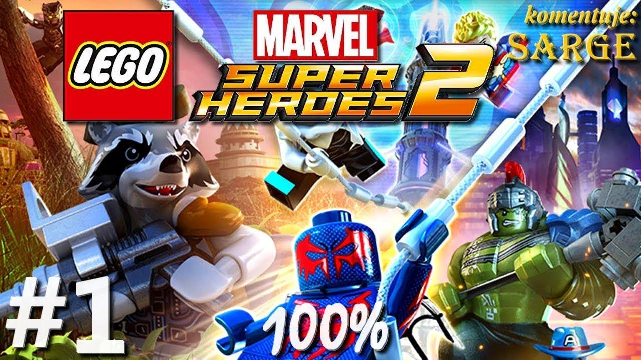 Zagrajmy W Lego Marvel Super Heroes 2 100 Odc 1 Powrót Superbohaterów Marvela