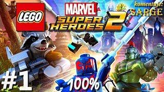 Zagrajmy w LEGO Marvel Super Heroes 2 (100%) odc. 1 - Powrót superbohaterów Marvela