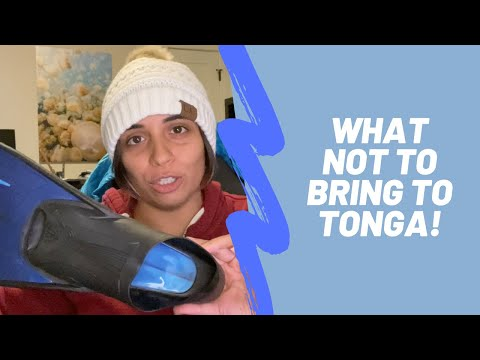 What Not To Bring | Vava'u, Tonga | Humpback Swims